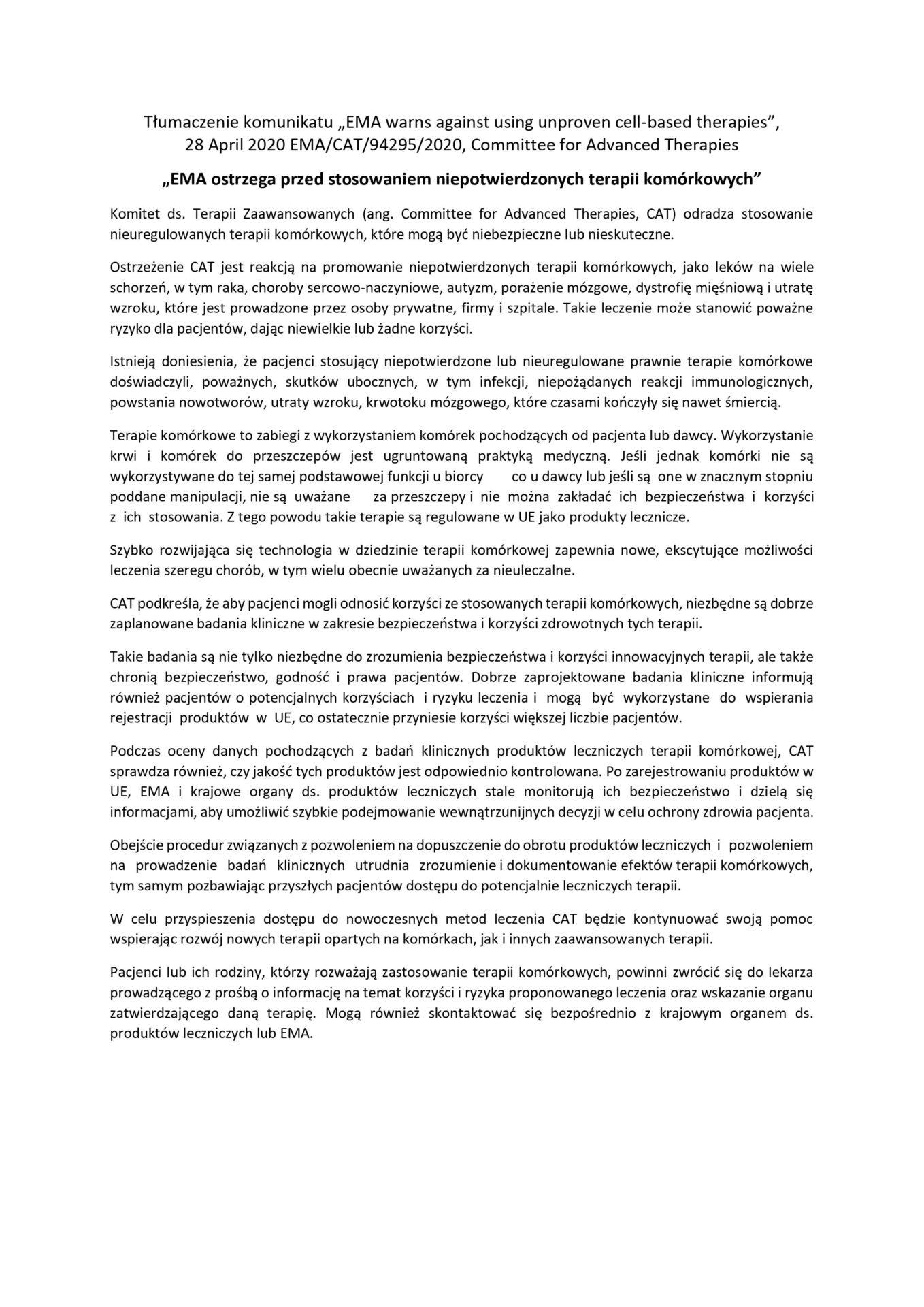 Tłumaczenie_komunikatu_EMA_z_dnia_28_kwietnia_2020_r